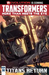 Transformers: More Than Meets the Eye #56