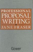 Professional Proposal Writing PDF