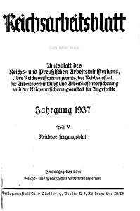 Reichs Arbeitsblatt PDF