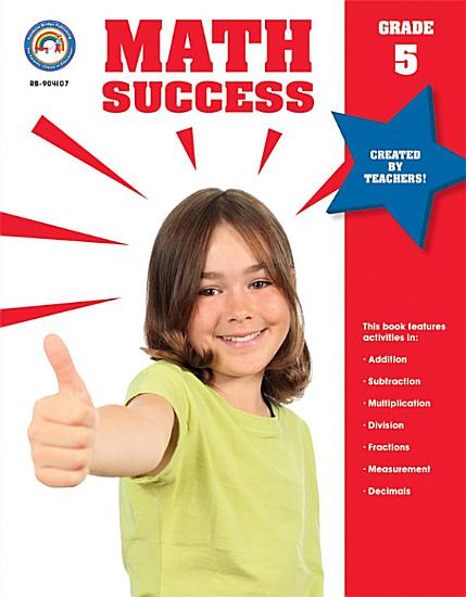 Math Success  Grade 5 PDF