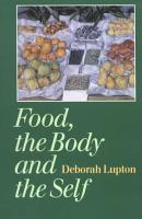 Food  the Body and the Self PDF