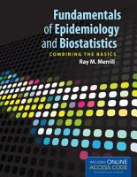 Fundamentals of Epidemiology and Biostatistics PDF