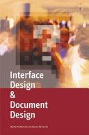 Interface Design & Document Design