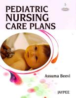 Pediatric Nursing Care Plans PDF