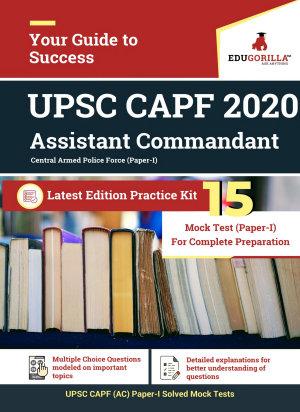 UPSC CAPF  Assistant Commandant  2020   15 Mock Test