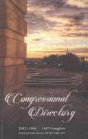 Official Congressional Directory  114th Congress