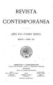 Revista contemporánea: Volumen 32