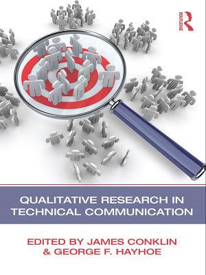 Qualitative Research in Technical Communication PDF