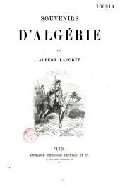 Souvenirs d'Algérie
