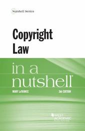 Copyright Law in a Nutshell: Edition 3