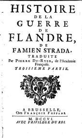 Histoire de la guerre de Flandre: Volume 3