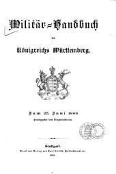 Militaer-Handbuch des Koenigreichs Wuerttemberg