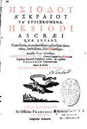 Hesiodou Askraiou Ta heuriskomena