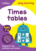 Times Tables Ages 7-11: Ideal for Home Learning (Collins Easy Learning KS2)