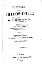 Histoire de la philosophie: Histoire de la philosophie ancienne