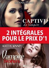 2 intégrales pour le prix d'1: Vampire Brothers + Captive du Vampire