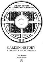 Garden History Reference Encyclopedia PDF