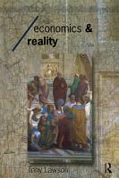 Economics and Reality PDF