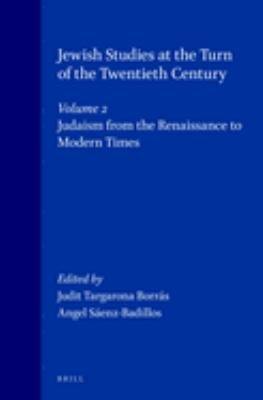 Jewish Studies at the Turn of the Twentieth Century PDF