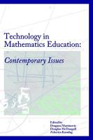 Technology in Mathematics Education  Contemporary Issues PDF