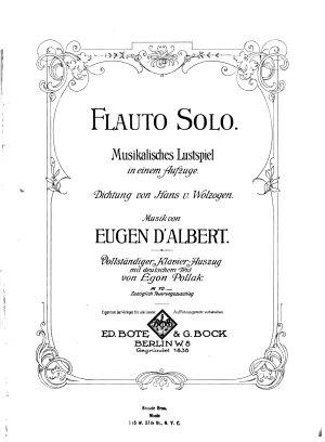 Flauto solo PDF