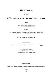 History of the Commonwealth of England: The civil war