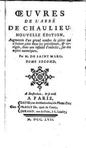Œuvres de l'abbé de Chaulieu