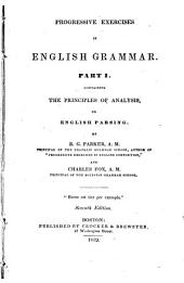 Progressive Exercises in English Grammar: Part 1