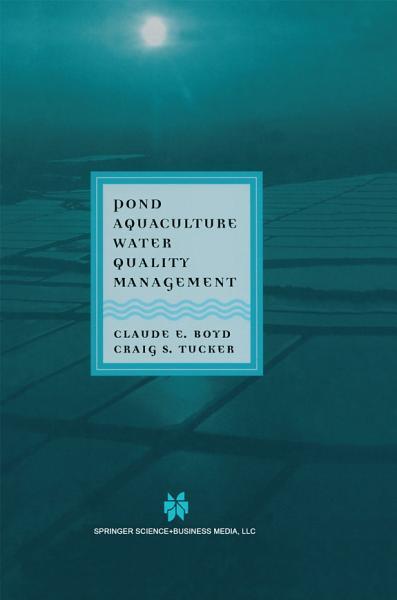 Pond Aquaculture Water Quality Management PDF