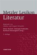Metzler Lexikon Literatur PDF