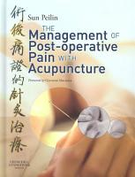 Management of Postoperative Pain with Acupuncture PDF