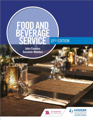 Food and Beverage Service  10th Edition PDF