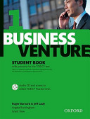 Business Venture 1 Elementary  Student s Book Pack  Student s Book   CD