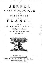 Abrégé chronologique de l'histoire de France: Volume2