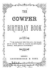 The Cowper Birthday Book