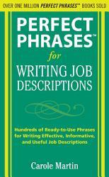 Perfect Phrases For Writing Job Descriptions Book PDF