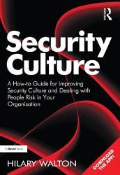Security Culture Book PDF