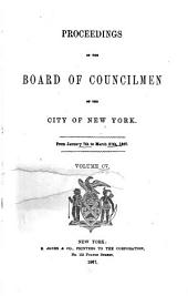 Proceedings of the Board of Councilmen of the City of New York: Volume 105