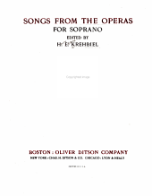 Songs from the Operas for Soprano