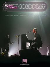 Coldplay Songbook: E-Z Play Today, Volume 40
