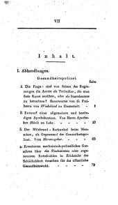 Jahrbuch der Staatsarzneikunde: Band 5