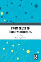 From Trust to Trustworthiness PDF