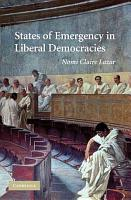 States of Emergency in Liberal Democracies PDF