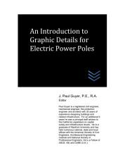An Introduction to Graphic Details for Electric Power Poles PDF