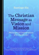 The Christian Message as Vision and Mission PDF
