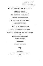 Scriptores latini, jussu christianissimi regis ad usum serenissimi Delphini: Tacitus, Cornelius