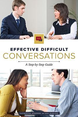 Effective Difficult Conversations PDF