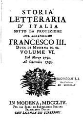 Storia letteraria d'italia...Francesco Antonio Zaccaria
