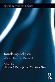 Translating Religion Book