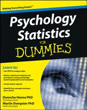 Psychology Statistics For Dummies